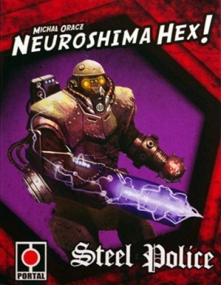 Z-Man Games Neuroshima Hex Steel Police Board Game
