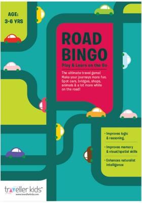 Traveller Kids Road Bingo Board Game