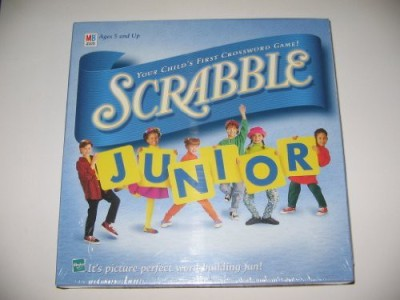 Scrabble Junior Your Child,S First Crossword (1999 Vintage) Board Game