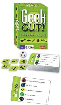 Playroom Entertainment Geek Out Board Game