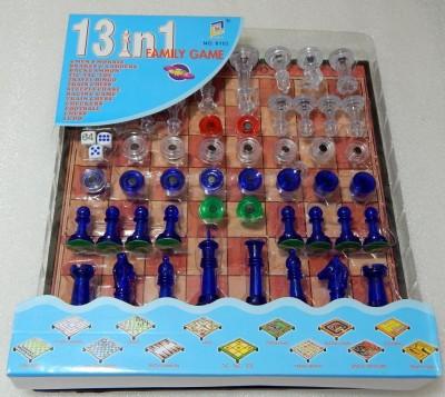 OZ 13 In 1 Family Game Board Game