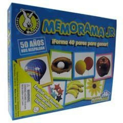 University Games Memorama Jr Memory Board Game