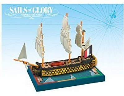 Ares Games Sails Of Glory Ship Pack Orient 1791 Board Game