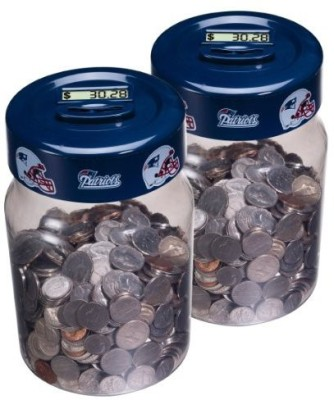 NFL New England Patriots Coin Jar Medium (Pack Of 2) Board Game