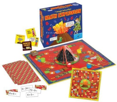 The Magic School Bus Math Explosion Board Game