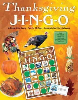 GARY GRIMM & ASSOCIATES Jingo Thanksgiving Board Game
