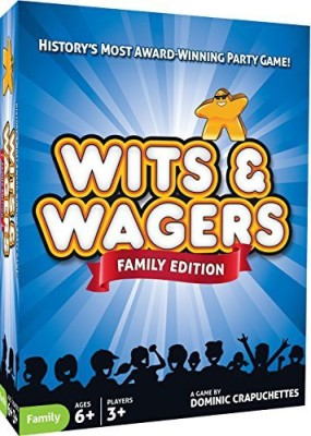 North Star Games Wits & Wagers Family Board Game