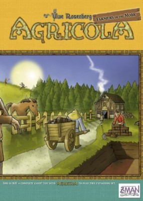 Z-Man Games Agricola Farmers Of The Moor Board Game
