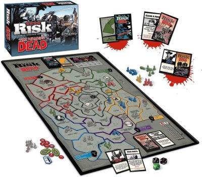 USAopoly The Walking Dead Risk Comic Edition Board Game Board Game