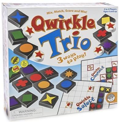 MindWare Qwirkle Trio Board Game