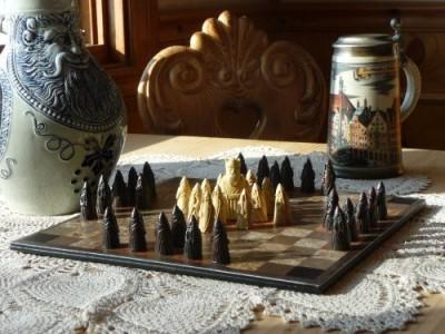 Neversummer Chalet Hnefatafl Masters Edition Board Game
