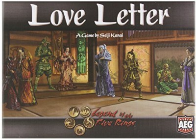 AEG Love Letter Legend Of The Five Rings Board Game