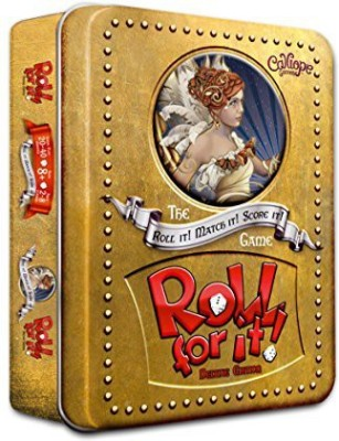 Calliope Games Roll For It Deluxe Edition Board Game