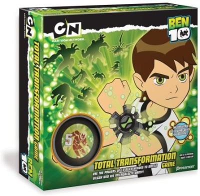 Pressman Toy Ben 10 Total Transformation Board Game