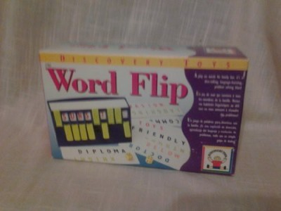 Discovery Toys Word Flip A Play One Words For Family Fun Board Game