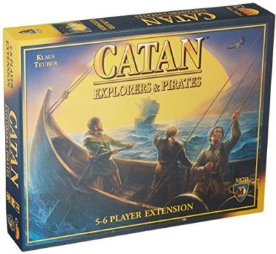 Mayfair Games Catan Explorers And Pirates 56 Player Extension Board Game