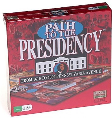 Black Heritage Series Path To The Presidency From 1619 To 1600 Pennsylvania Avenue Board Game