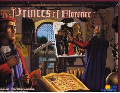 Rio Grande Games Princes Of Florence Board Game