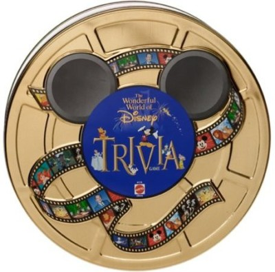 Disney Wonderful World Of Trivia In Collectible Tin Board Game