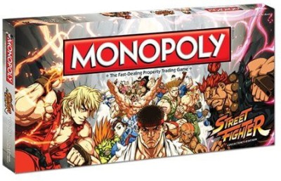 USAopoly Monopoly Street Fighter Collector,S Edition Board Game