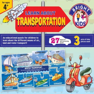 BPI Learn About Transport Air ,Land Sea Board Game