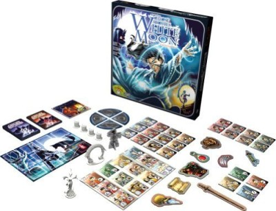 Asmodee Ghost Stories White Moon Expansion Board Game