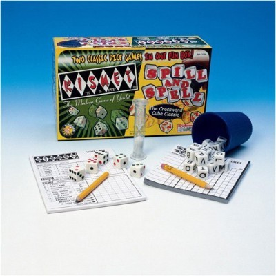 Endless Games Spill And Spell Kismet Combo Board Game
