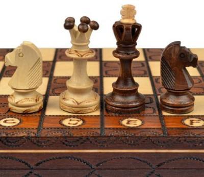 Wegiel Chess Set Junior European International Handcrafted Board Game