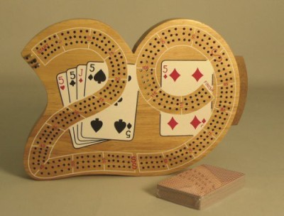 Play All Day Games 29 Cribbage Board Game