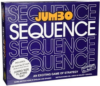 Jax Jumbo Sequence Box Edition Board Game