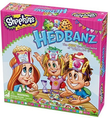 Cardinal Industries Shopkins Hedbanz Board Game