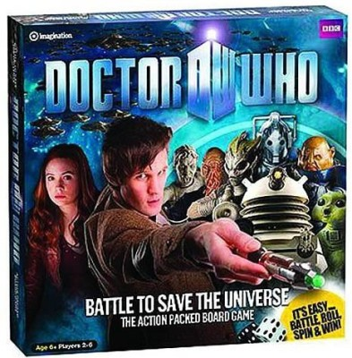 Diamond Select Doctor Who Battle To Save The Universe (Import) Board Game