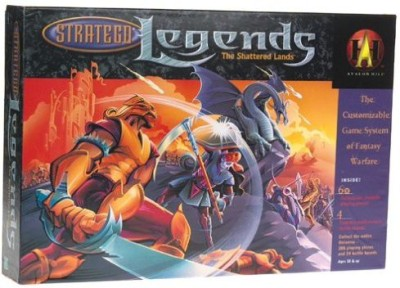Avalon Hill Stratego Legends The Shattered Lands Board Game
