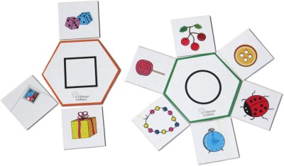 Clever Cubes Hex-a-form Board Game