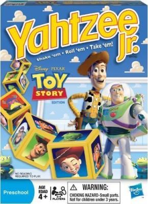 Parker Brothers Yahtzee Jr Disney Pixar Story Board Game