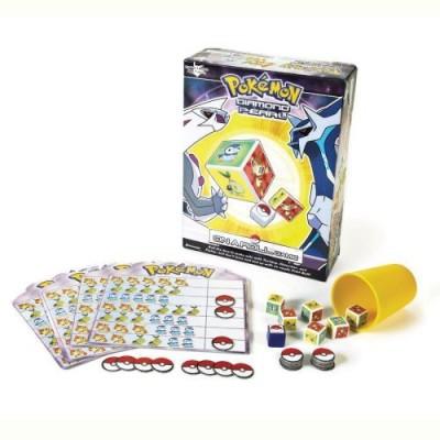 Pressman Toy Pokemon On A Roll Board Game