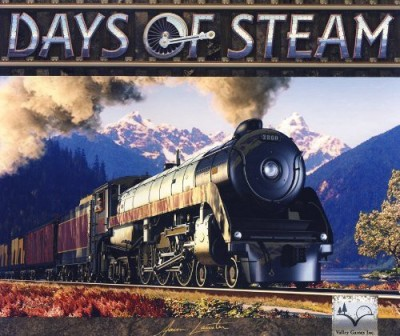 Valley Games Days Of Steam Board Game