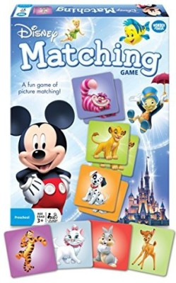Wonder Forge Disney Classic Characters Matching Board Game