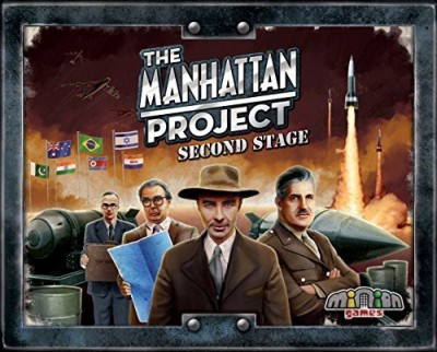 Minion Games The Manhattan Project Second Stage Board Game