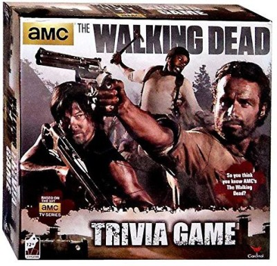 Brybelly Ttti006 The Walking Dead Trivia Board Game
