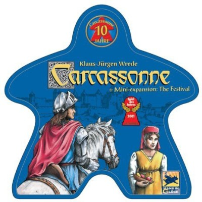 Rio Grande Games Carcassonne 10 Year Special Edition Board Game