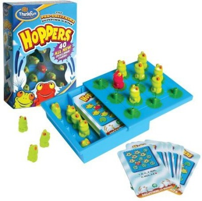 Think Fun Thinkfun Hoppers Board Game