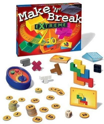 Ravensburger Make ,N, Break Extreme Family Board Game