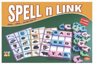 Ratnas Spell N Link Board Game