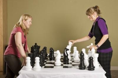 Garden Games Junior Jumbo Chess With 4, X 4, Mat Board Game
