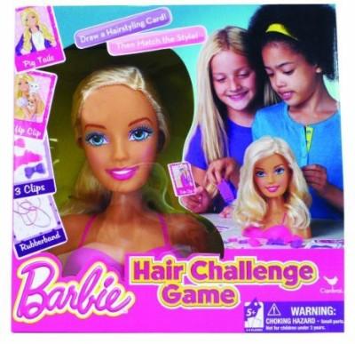 Barbie Hair Challenge Board Game