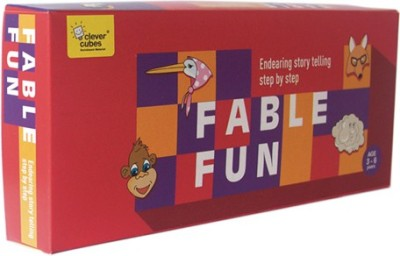 Clever Cubes Fable Fun Board Game