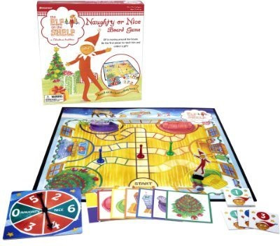 Pressman Toy Elf On The Shelf Naughty Or Nice Board Game