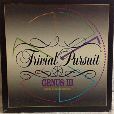 Parker Brothers Trivial Pursuit (Genus Iii Master ) Board Game