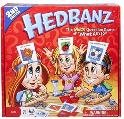 Spin Master Games Hedbanz Edition May Vary Board Game